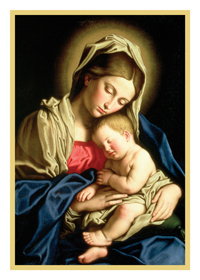 Christmas Cards - Madonna and Child