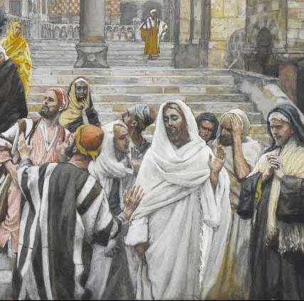 tissot-the-disciples-admire-the-buildings-of-the-temple 2