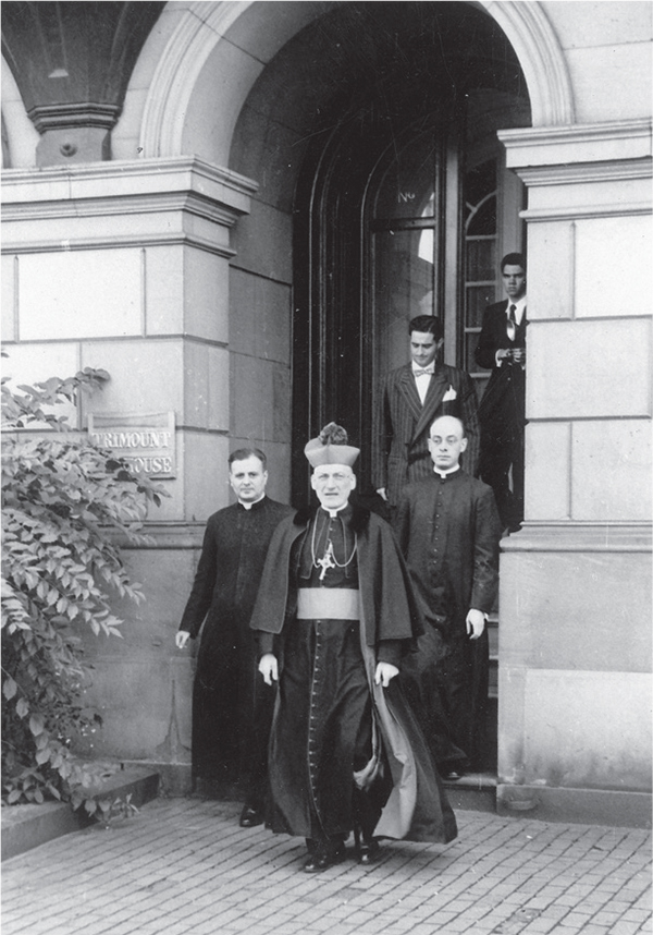 On October 19, 1954, the archbishop of Boston, Richard James Cushing, blessed the house and celebrated Holy Mass for the official inauguration of the residence.