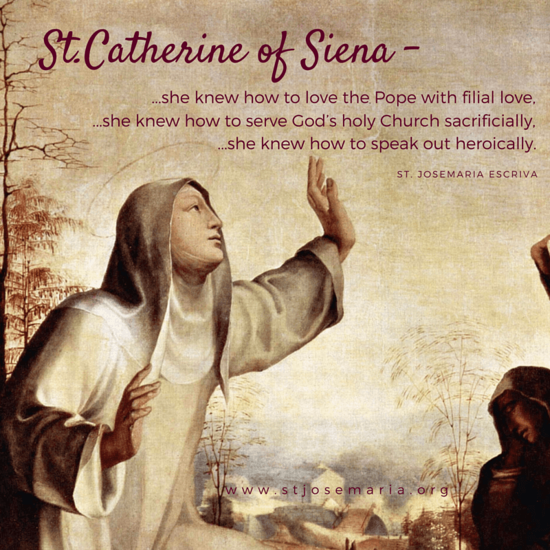 saint catherine of siena Dominican tertiary, born at siena, 25 march, 1347 died at rome, 29 april, 1380 she was the youngest but one of a very large family her father, giacomo di benincasa.