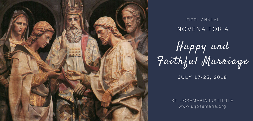 Novena for a happy and faithful marriage